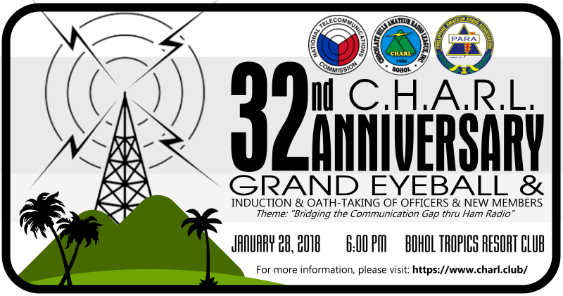 32nd CHARL Anniversary & Grand Eyeball (updated)