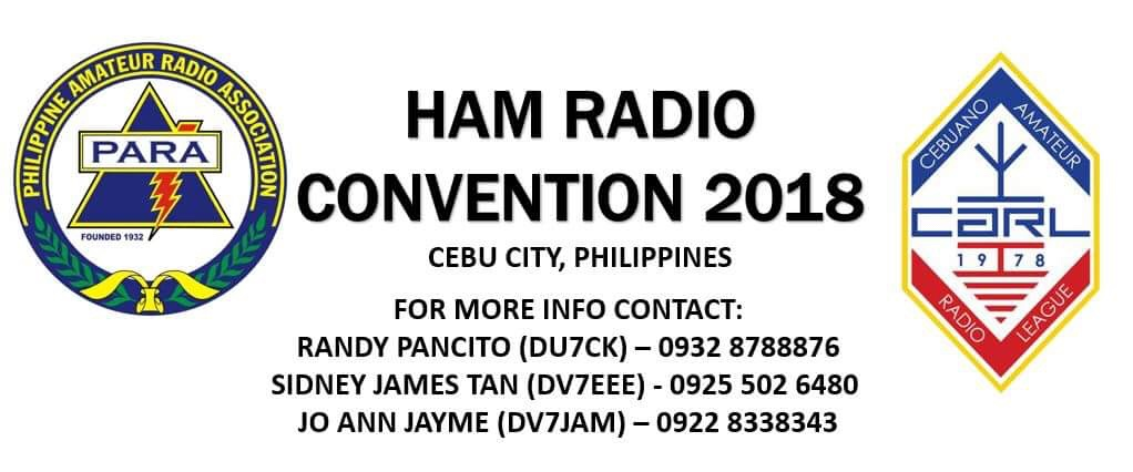 CHARL supports CARL, PARA Ham Radio Convention