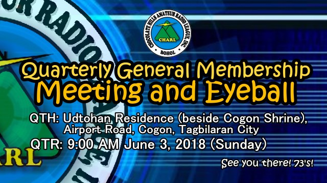 Quarterly General Membership Meeting on June 3, 2018